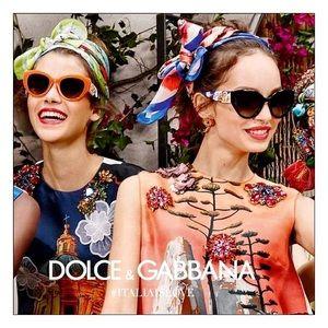 NEW Dolce & Gabbana Silician Carretto Sunglasses